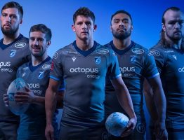 Cardiff Blues revela la camiseta europea 2019/20